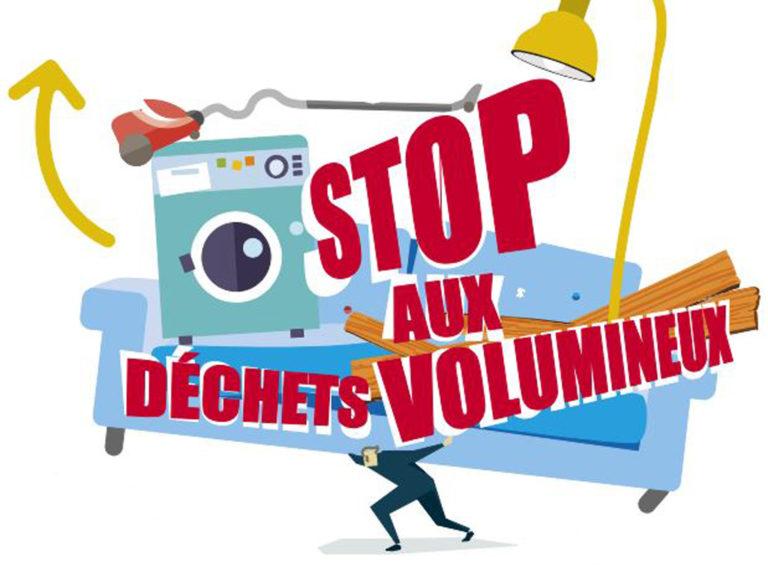 Stop aux déchets volumineux