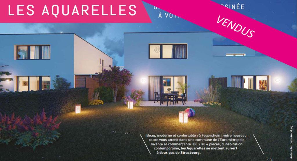 Les aquarelles à Fegersheim (23 logements)