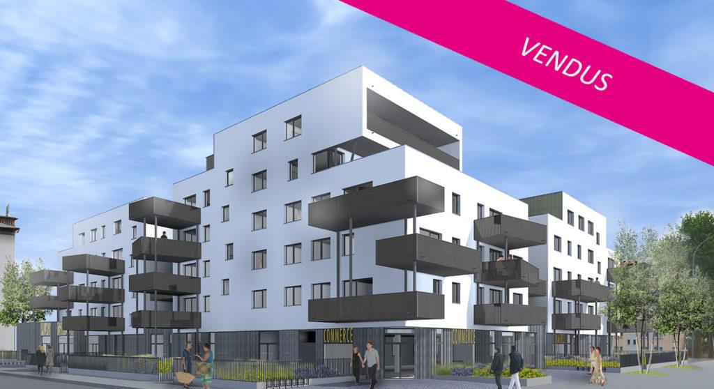 Le Jouvence à Strasbourg-Meinau (12 logements)
