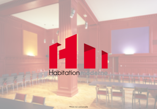 Salon Rouge - Habitation Moderne