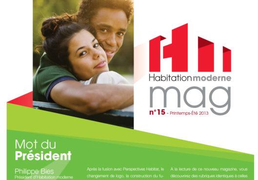 Le mag' HM n°15 - Habitation Moderne