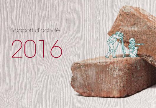 Rapport d'activités 2016 - Habitation Moderne