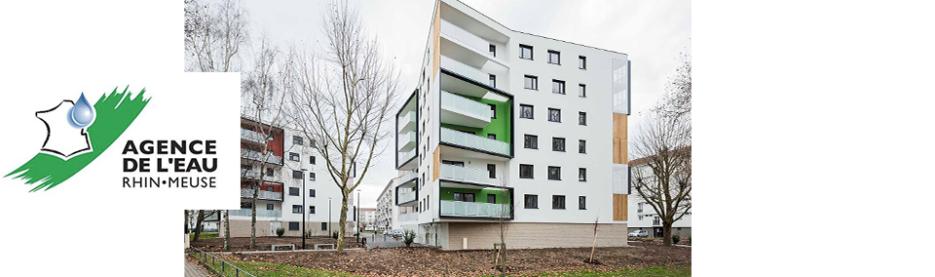 """Habitation moderne, lauréate du concours """"Eau et quartiers prioritaires de la politique de la ville"""