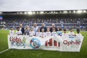 Chaque année Habitation moderne en partenariat avec le Racing Club de Strasbourg et Ophéa organise l'Eté Foot, à destination de tous les jeunes.