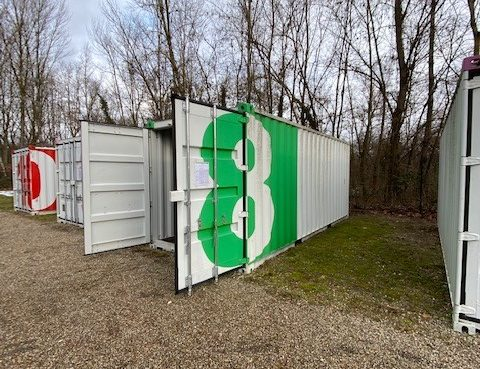 A louer container en self stockage - ACTIBOX - Habitation Moderne