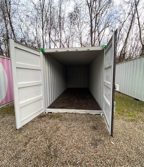 A louer container en self stockage - ACTIBOX
