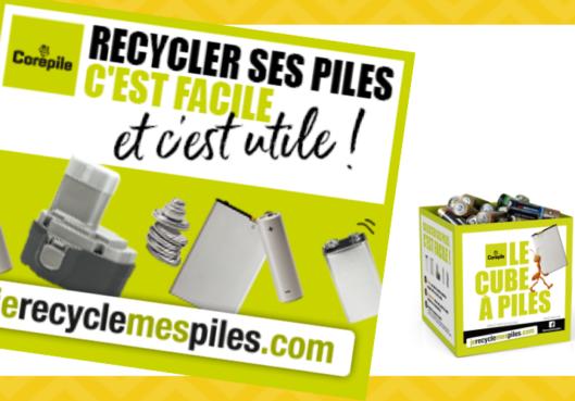 Défi pile : participez avec Habitation moderne au recyclage des piles - Habitation Moderne