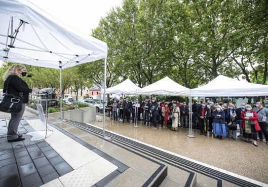 Inauguration de la Maison Urbaine de Santé du quartier de l'Ill - Habitation Moderne