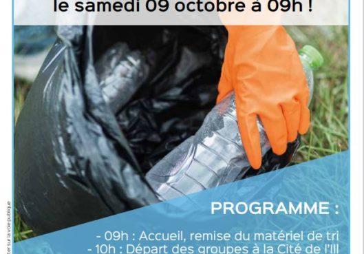 Nettoyage d'automne à venir à la Cité de l'Ill ! - Habitation Moderne